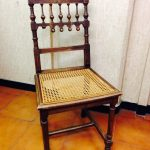 impagliatura sedia restaurata