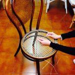 impagliatura sedie genova lavorazione 2